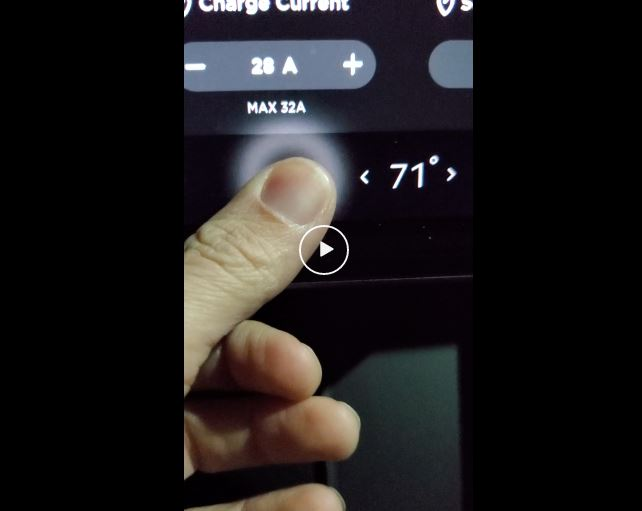 Press and hold fan icon to turn off climate control ...