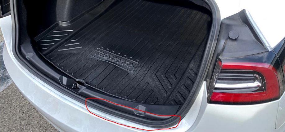 Model 3 Trunk Gasket Fix - Tesla Model 3 Wiki